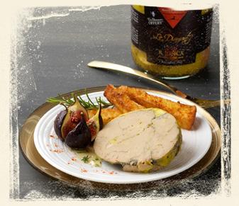 recette foie gras miel et pain perdu