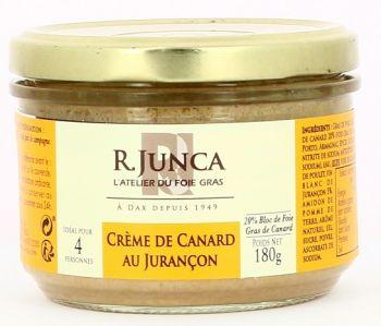 Crème de canard au Jurançon 20% Bloc de Foie Gras de Canard