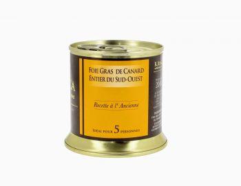 Foie gras de canard entier du Sud-Ouest recette à l'ancienne
