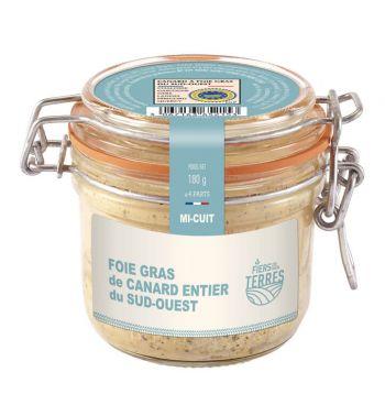 Foie Gras de Canard Entier du Sud-Ouest - Mi cuit