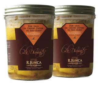 Lot Foies gras Convivialité et partage conserve