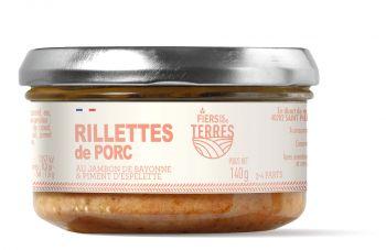 Rillettes de Porc au jambon de Bayonne et piment d'Espelette