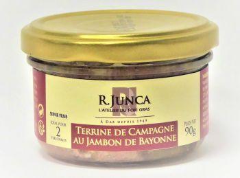 Terrine de campagne au jambon de Bayonne