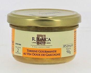 Terrine gourmande au vin doux de Gascogne (20% de foie gras)