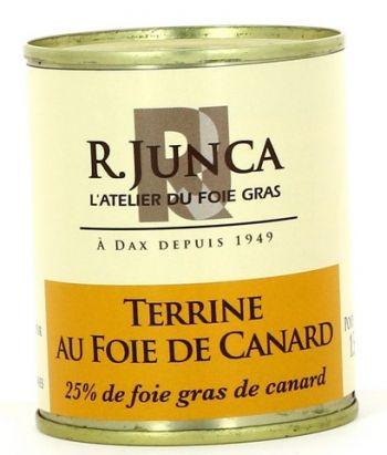 Terrine au foie de canard (25% de foie gras de canard)