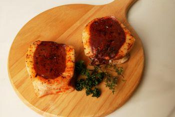 Tournedos de magret  au piment d'Espelette, issus de canard du Sud-Ouest