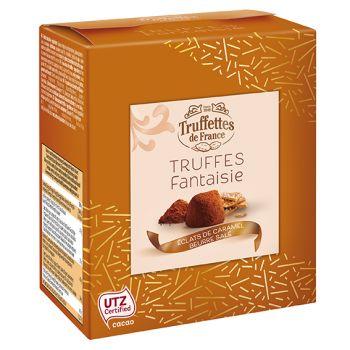 Truffes chocolat éclat de caramel beurre salé