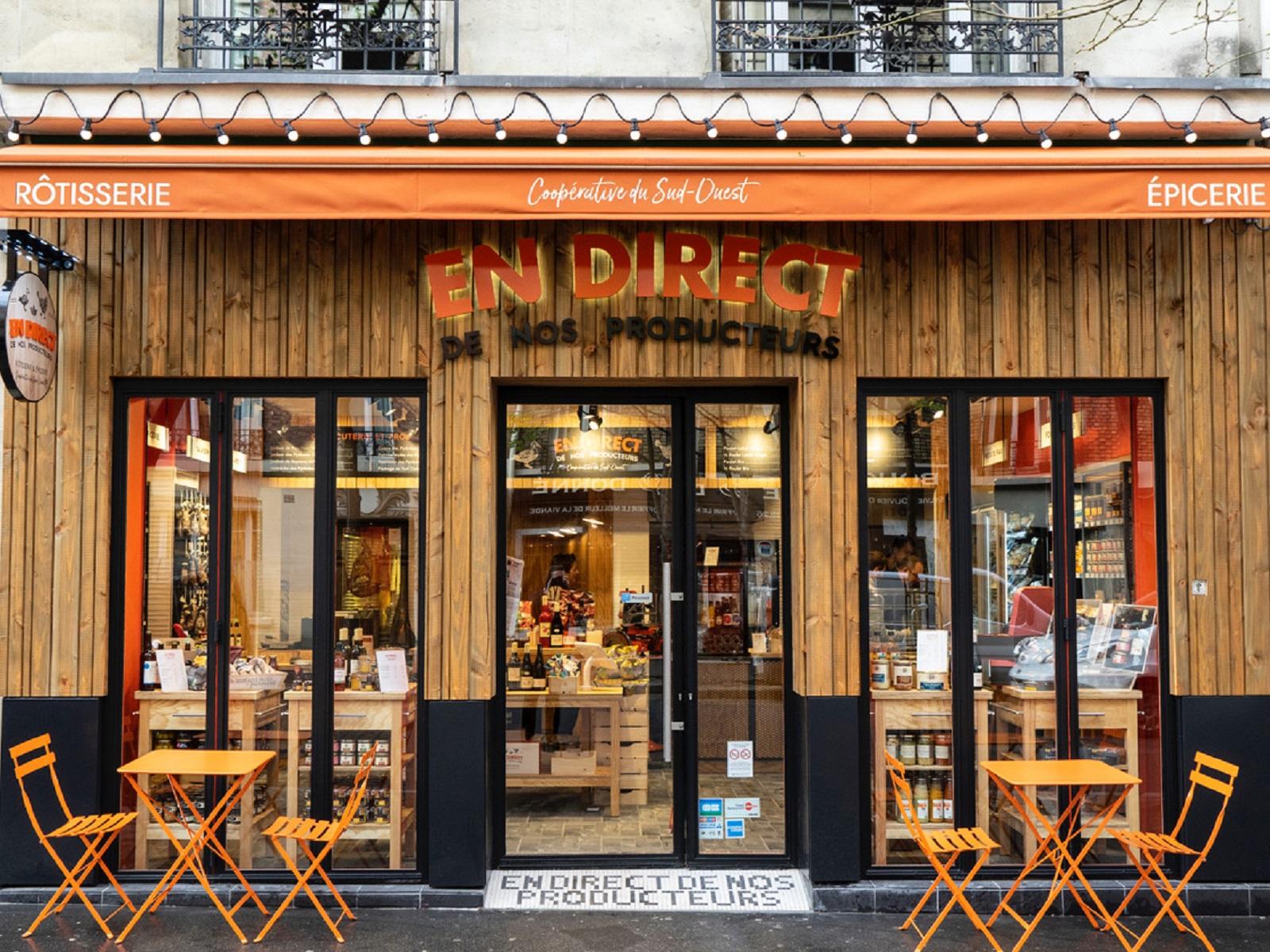 Boutique foie gras Paris